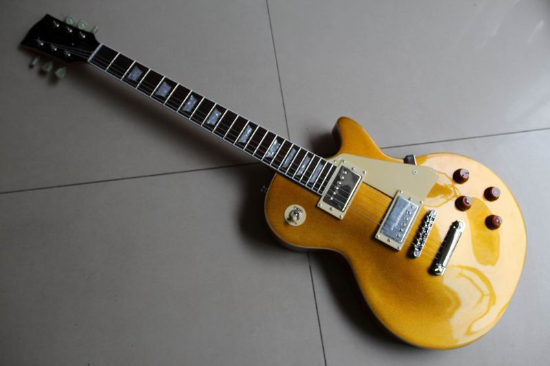 Custom Shop 57 Reissue VOS Goldtop gold top electric guitar freside binding one piece neck VOS 111001