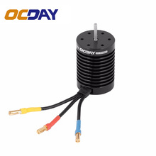 OCDAY 9T 4370KV 4 Poles Sensorless Brushless RC Motor  for all 1/10 Scale Chassis RC Car