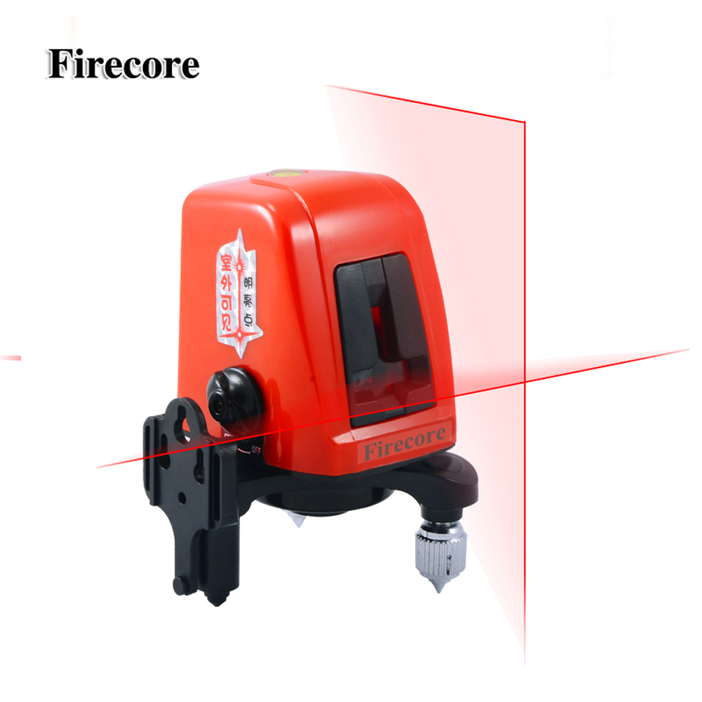 Firecore A8826D Laser Level 2 Lines 1 points 1V1H1D Horizontal and Vertical Lazer Line Cross Line Levelling