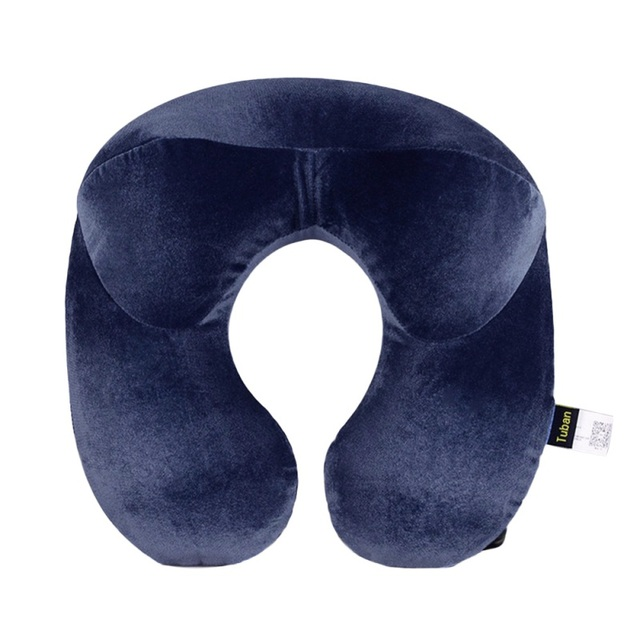 U-Shape Travel Inflatable Neck Pillow