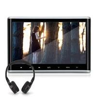 10 1 Inch Digital TFT LCD Screen HD 1024 600 Car Headrest DVD Player Built In