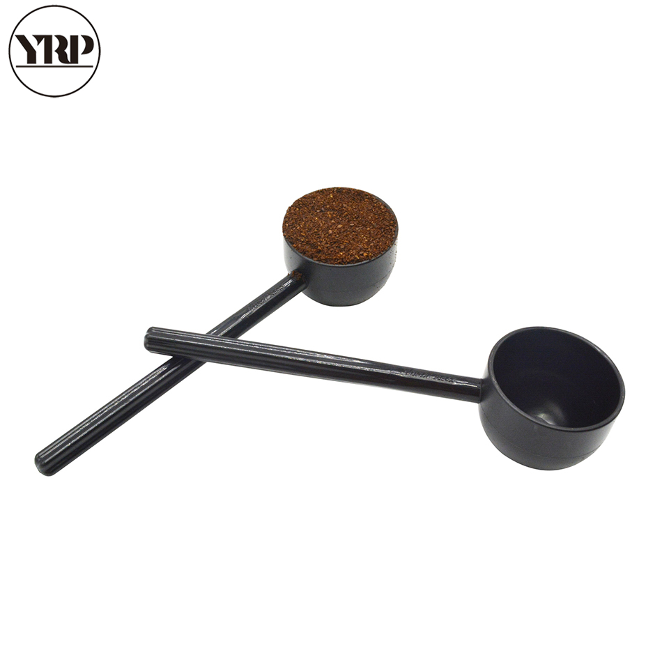 YRP Long Handled Coffee Scoops Ice Cream Dessert Tea White Sugar Scoops For Picnic Kitchen Tool Coffee Maker Accessories