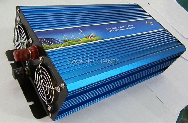 Doubel Digital Display 5000W Pure Sine Wave Power Inverter 12V DC to 220V 230V 240V Off Grid Power Converter Solar System