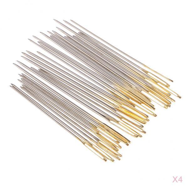 fityle 120Pc Assorted Size 22 24 26 Hand Sewing Needles for Darning Tapestry Sewing Crafts