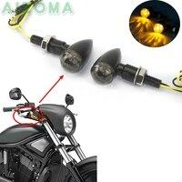 Znak E E11 Sport motocykl miejski motocykl włącz sygnału migacz światło dla Kawasaki Honda Yamaha Custom DC 12 V LED amber wskaźnik na