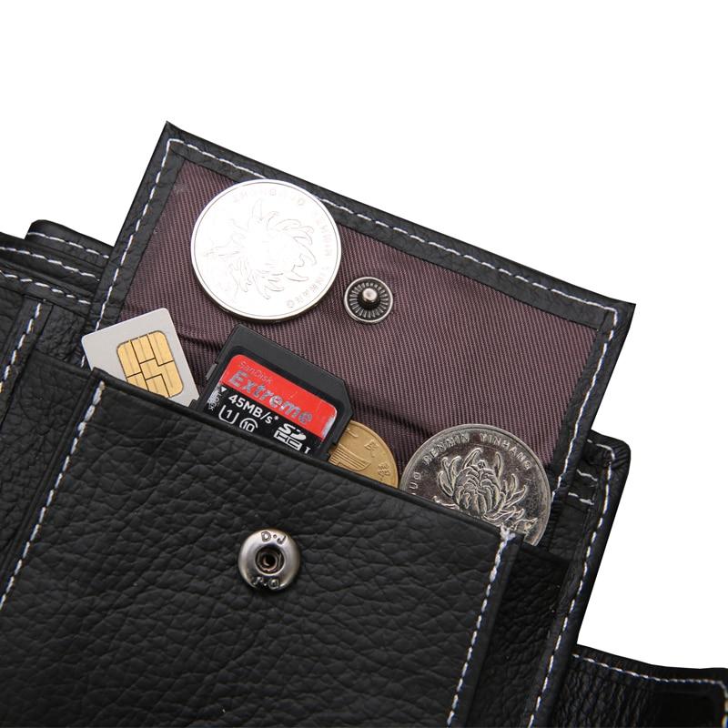 carteira dos homens com bolso Fit For : Both Men For Men Wallets
