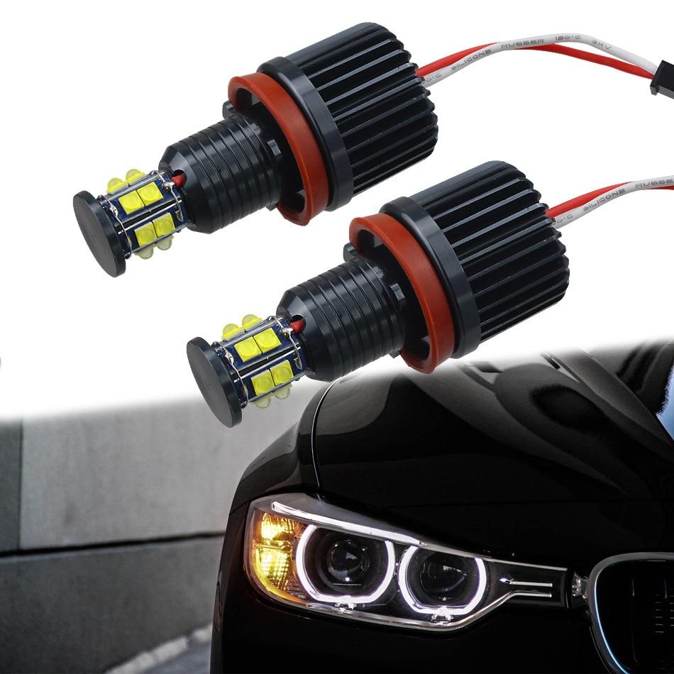 Vauxhall Zafira MK2//B 8SMD LED Error Free Canbus Side Light Beam Bulbs Pair