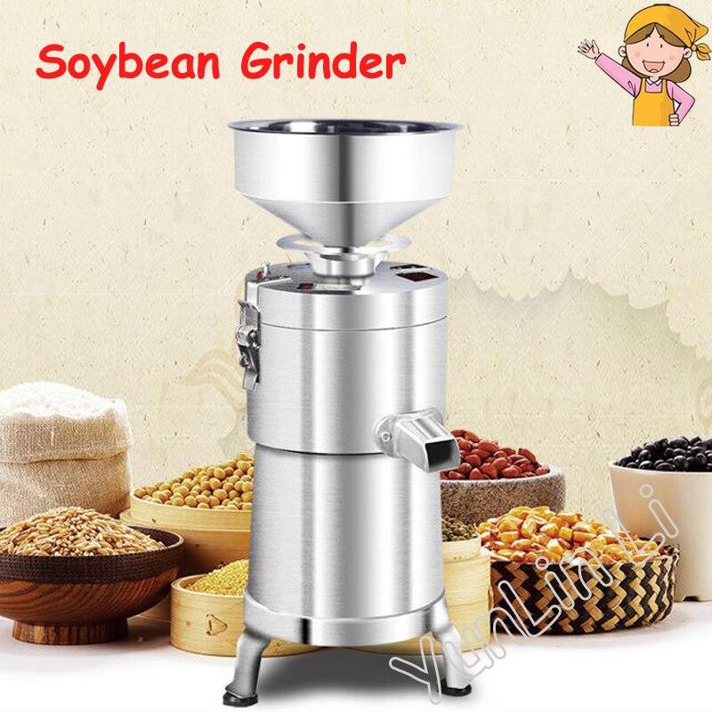 Pieno sulčiaspaudės Sojų malimo mašina Buitinis komercinis grūdų malūnėlis Automatinis šlakeliu atskirtas sojų pupelių gamintojas 100 Tipas