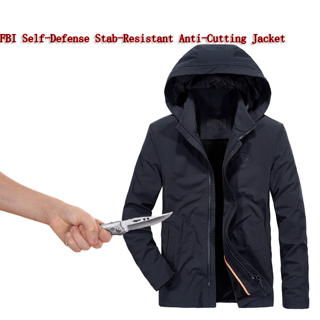 New Self Defense Security Anti-cut Anti-Hack Anti-Sta Jacket Military Stealth Swat Police Personal Tactics Clothing 3 Colo 2018