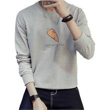 2016 herbst Neue Marke Mode Herren Druck Hoodies Langarm-pullover Hoodies Hip Hop Männer Frühsport Sweatshirts 5XL