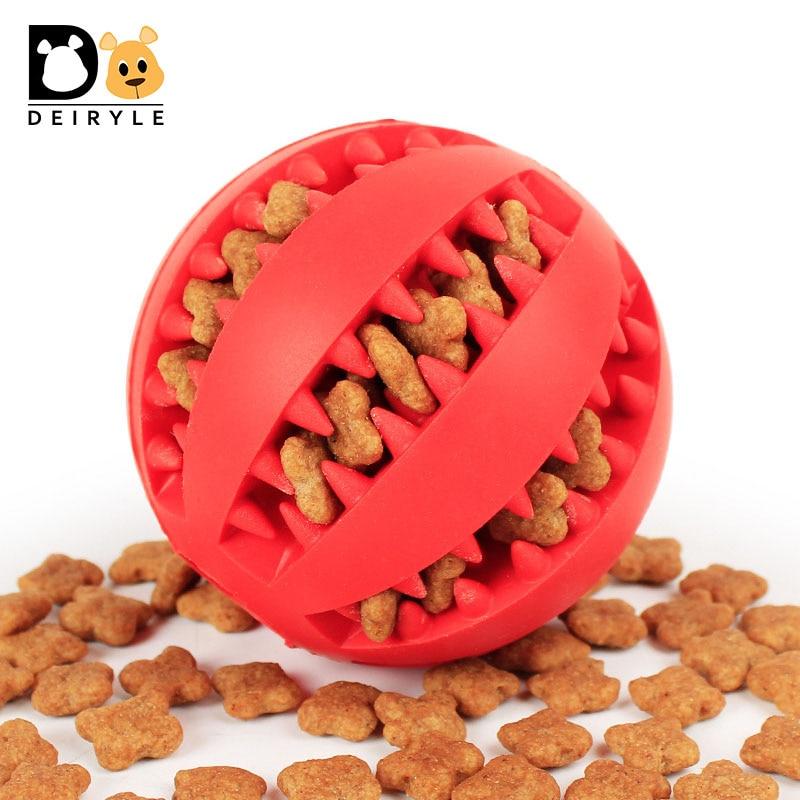 Juguetes del perro sabor menta suave caucho masticar juguetes engranaje bola diseño puesto juguete aperitivos golosinas para mascotas bola para pequeño mediano perros grandes 5 cm 7 cm