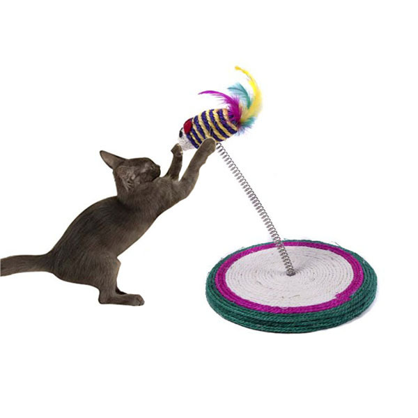 Colorful Spring Cat Toy