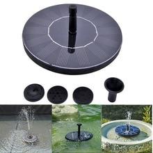 Alta Calidad 7 V Flotante Piscina Bomba de Agua Las Plantas de Jardín Fuente de la Energía Del Panel Solar de la Nueva Llegada