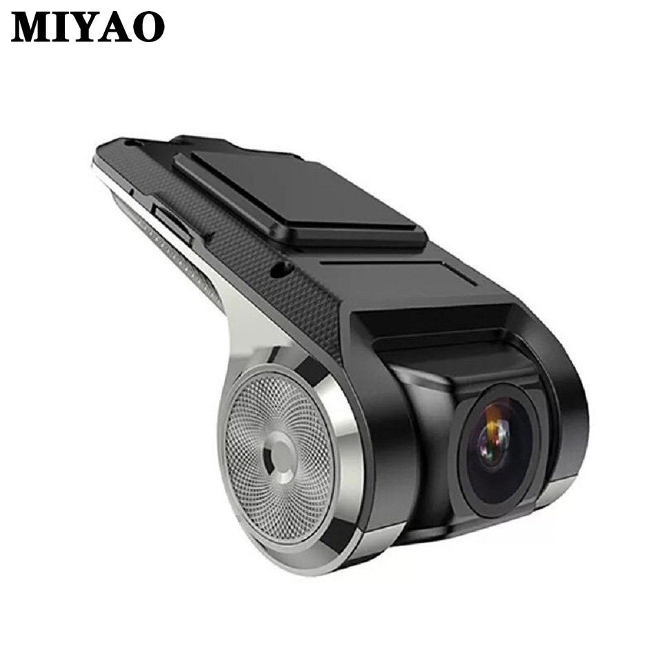 USB Vehicle Dash Camera Mini Car DVR Camera HD Dashcam WDR Auto Digital Video Recorder Dash Cam USB Android Multimedia Player