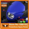 Мотоцикл Правовой Streetfighter LED ЕС Фар Фары Dirt Bike WR 250 CRF YZ YZF РМЗ ИРБИС TTR 125 250 Бесплатно доставка