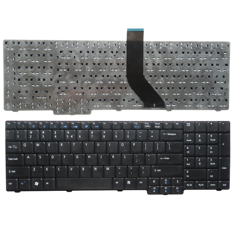 New Keyboard FOR Acer FOR Aspire 7330 7730 7730G 7730Z 7730ZG 7730G 7630 7630EZ 7630G Black US Laptop Keyboard
