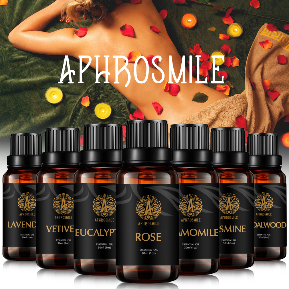 30ml Natural Herbal Plant Aromatherapy Oil Jasmine Sandalwood Lavender Essential Oils Whitening Skin Care Rose Oil Massage Oil