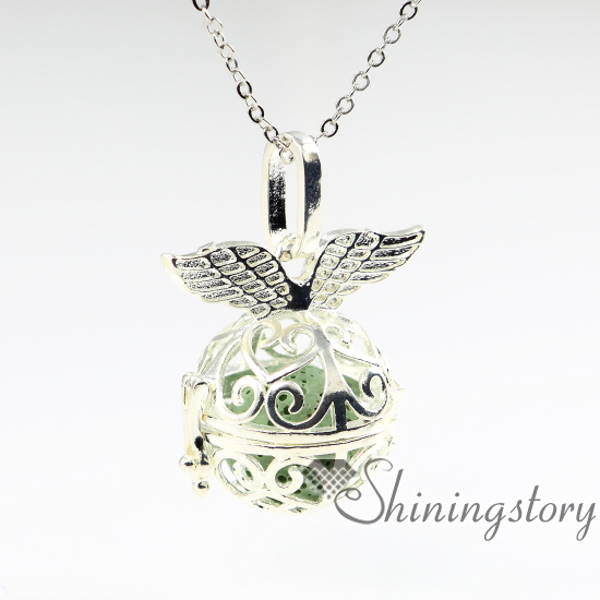 Wings openwork metal volcanic stone diffuser necklaces wholesale wings openwork metal volcanic stone diffuser necklaces wholesale essential oil diffuser necklace diffuser pendants aromatherapy in pendants from jewelry aloadofball Image collections