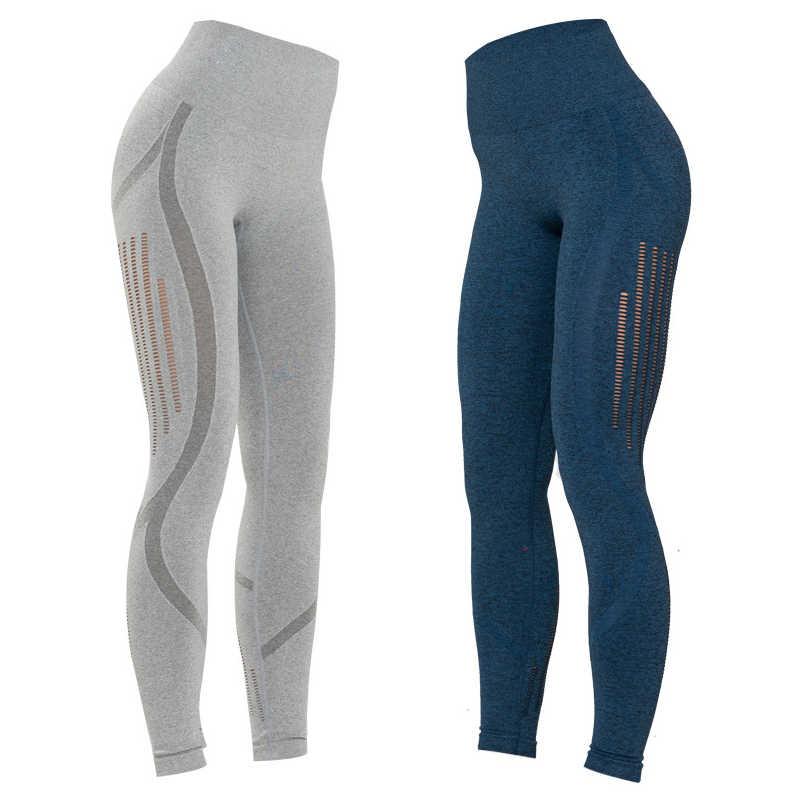 3a53fbbb0e224c ... Yoga Pants Gym Shark Leggings Sport Women Fitness Energy Seamless High  Waist Running Tights Push Up ...