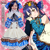 Pretty Japanese Anime Love Live Sonona Umi Candy Maid Uniform Princess Vintage Lolita Dress Cosplay Custume