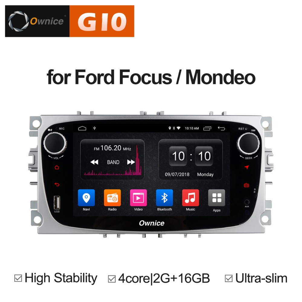 Android 8.1 Car DVD Player GPS Navi for Ford Focus Mondeo Kuga C-MAX S-MAX Galaxy Kuga Audio Radio Stereo Head Unit Multimedia