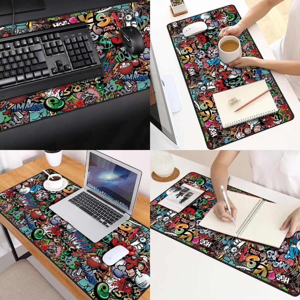 Extra grande gaming mousepad gamer computador Anti-slip Mouse Pad  xl xxl 900x400mm