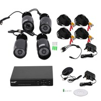 Professional   Camcorder   8CH 1080N HDMI DVR 4X 2000TVL CCTV Video Security Camera System with 960P 1.3MP HD Camera 1TB HDD