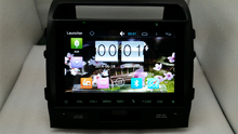 Latest 10.1″ Pure Android 4.4.4 Quad Core Car DVD player 1.7ghz 3g/wifi for  TOYOTA Land cruiser (2008-2015) Free shipping