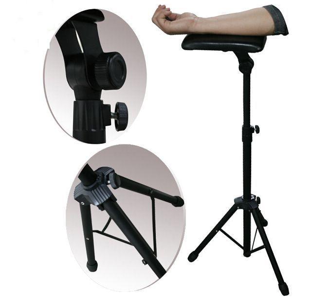 Accoudoir de tatouage support de tatouage bras jambe reste support Portable réglable en hauteur support trépied Machine pour tatouage tatouage I