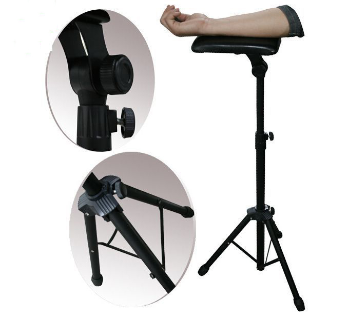 Tattoo Armrest Tattoo Bracket Arm Leg Rest Stand Portable Adjustable Height Holder Tripod Machine For Tattooing Tattoo I