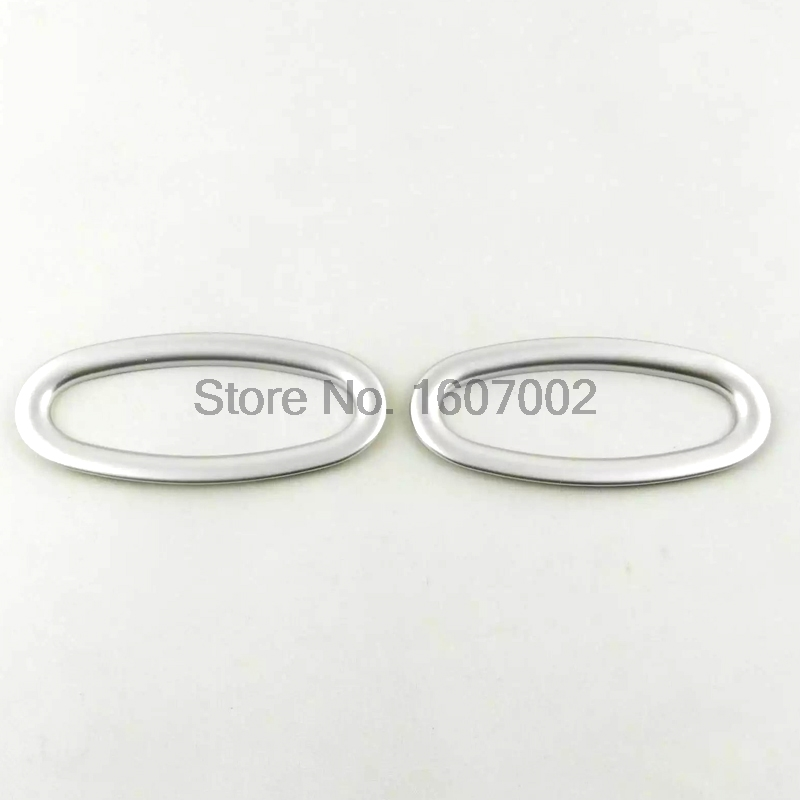 For Renault Koleos 2016 2017 ABS Matte Front Head Reflection Door Interior Warning Signal Lamp Light Cover  reflection