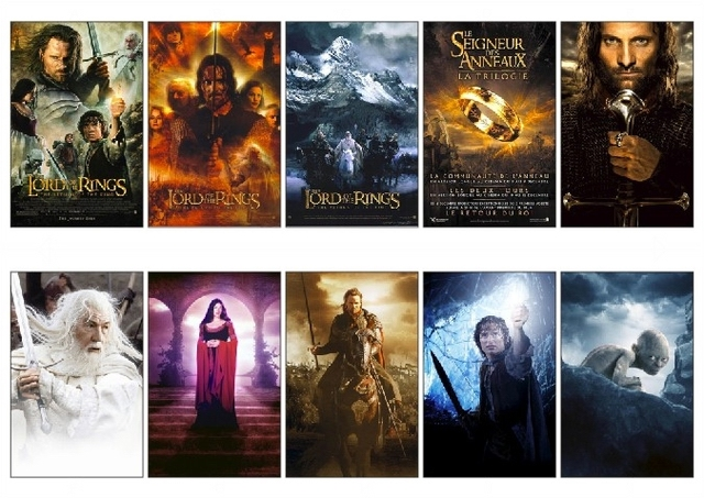 10 Pcslot The Lord Of The Rings The Return Of The King Movie