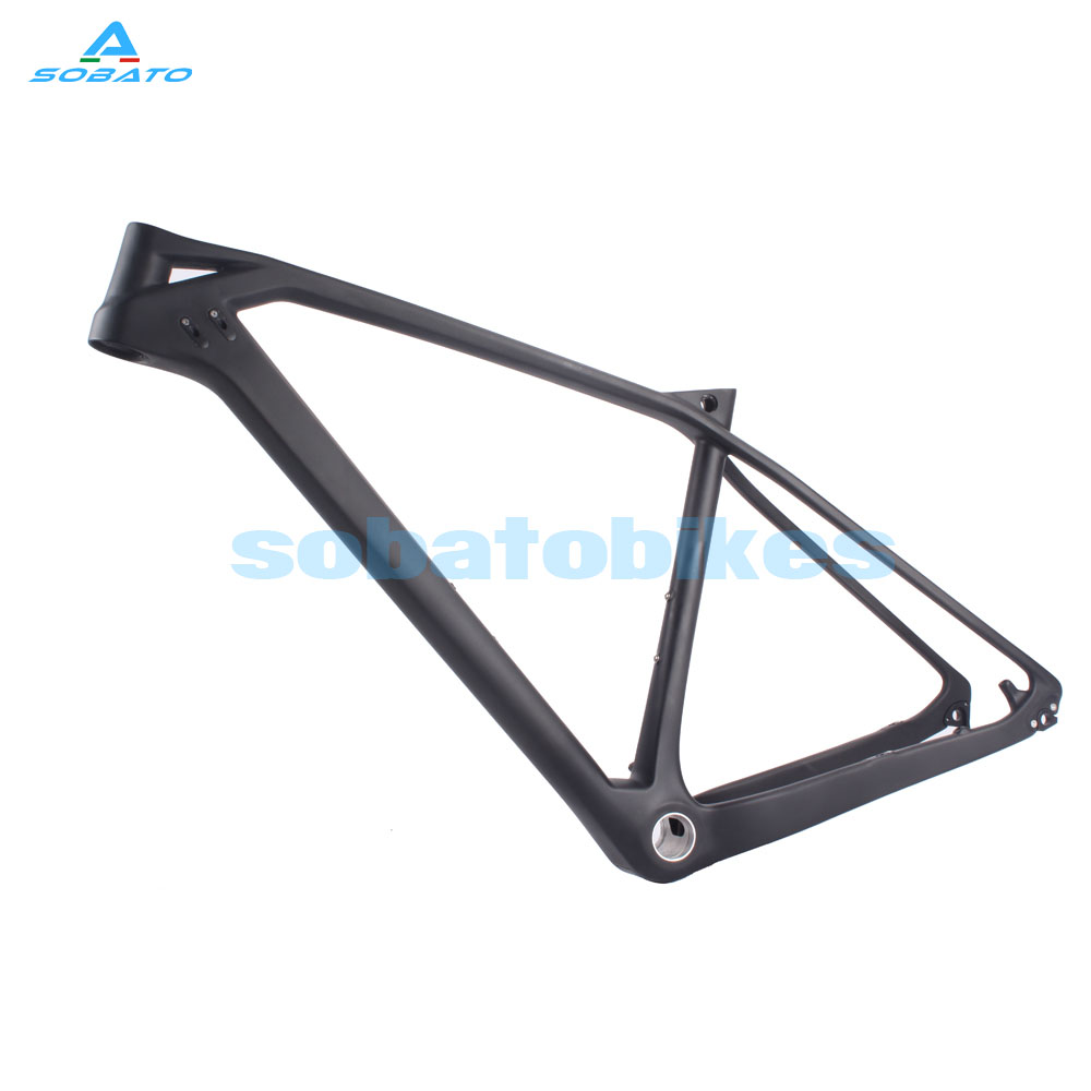 Factory Price 27.5er Carbon MTB Frame Bicycle Mountain Frame142*12mm 135*9 MM Dropout UD Matte BlackFactory Price 27.5er Carbon MTB Frame Bicycle Mountain Frame142*12mm 135*9 MM Dropout UD Matte Black