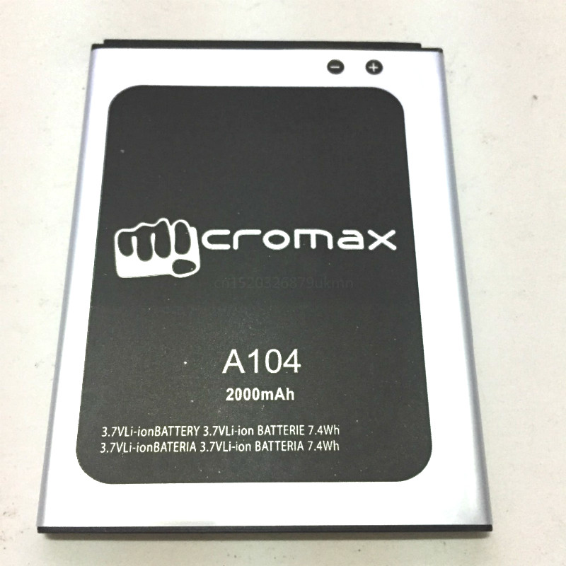 2000mAh Battery Micromax Canvas Fire 2 A104 mobile phone