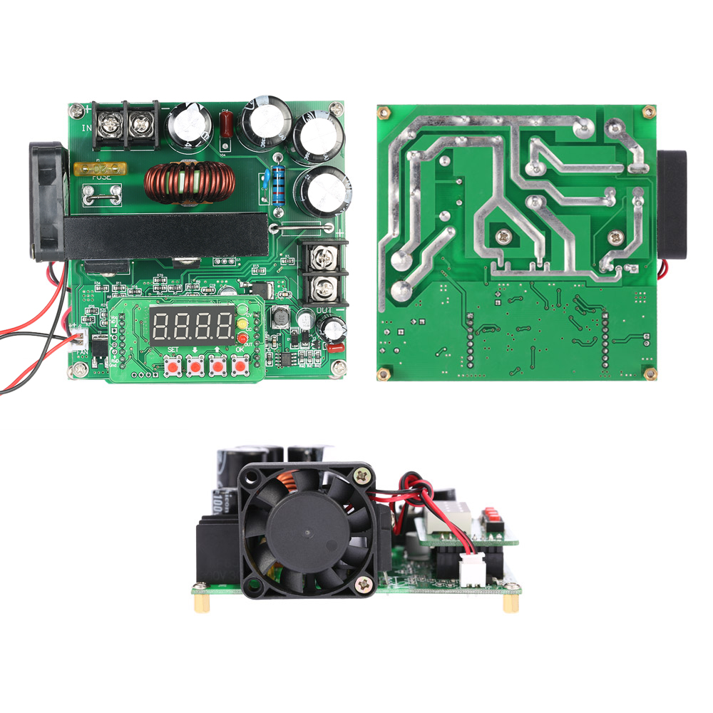 900W Digital Control DC-DC Boost Module great Step-up Converter Power Supply Module CC/CV LED Display 0-15A IN 8-60V OUT 10-120V dps 3806 b3806 dc dc digital control boost and buck module digital led drive solar battery charging 50