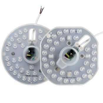 36 W LED moduł lampy sufitowej magnes 12 W 18 W 24 W AC220V źródło światła LED ośmiornica włókno światłowodowe wymienić lampy sufitowe LED lampy sufitowe LED Panel światła tanie i dobre opinie Żarówki led 220 v Aluminium Do montażu powierzchniowego Nowoczesne Metal 20 Pokrętło przełącznika Foyer Metrów 10-15square