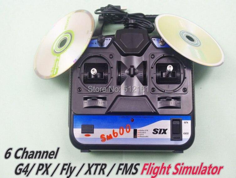 ФОТО 6CH G4+PX+Fly+XTR+FMS Flight Simulator w/Software handle Emulator Suit Beginner