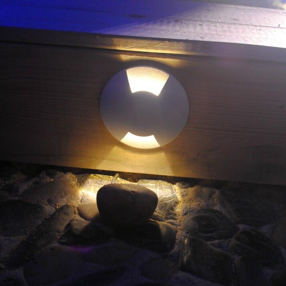 Alumínio LEVOU Lâmpada Subterrânea LED Escadas Luzes