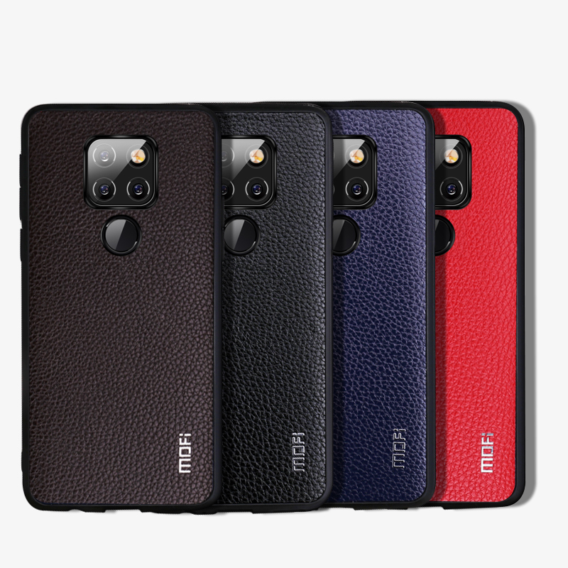 Leather Grain Back Cover For Huawei Mate 20 Mate 20 Pro Business People Choice