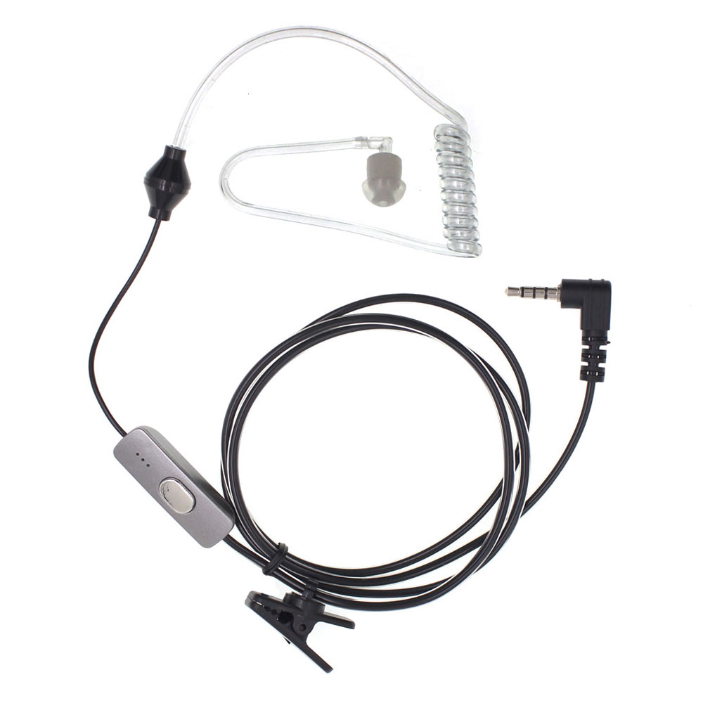 BF-T1 Acoustic Tube PTT Mic Earpiece Headset For Baofeng BF-T1 Walkie Talkie BF T1 Mini Ham Radio BFT1 Two Way Radio AT-BFT1