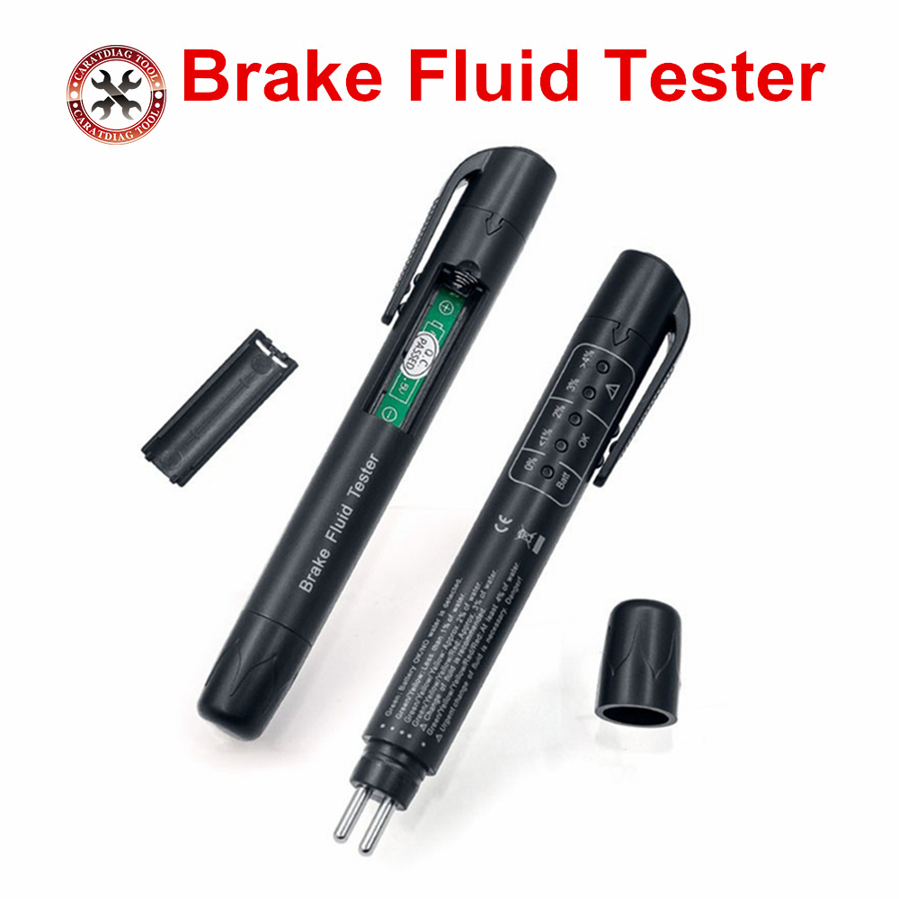 2019 New 100% High Quality Brake Fluid Tester Car Brake Fluid Digital Tester Suitable for Determining Brake Fluid drect Sell(China)