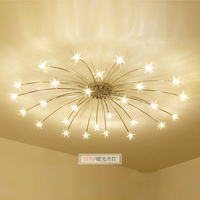 Современные светодиодные светильники потолочные для гостиной Метеор плафоны для детей спальни AC 90 В 260 В