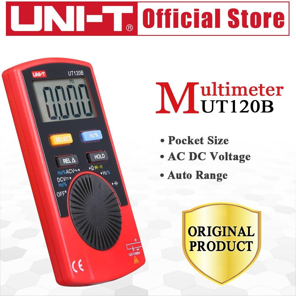 UNI-T UT120B kišenės dydžio stilius Skaitmeninis multimetras - Matavimo prietaisai - Nuotrauka 6