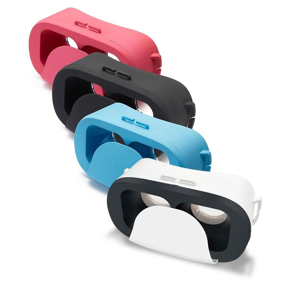 60137f71e3695 Caixa de Óculos vr para Android de Realidade Virtual 3d Google Papelão Ios  Smartphones 4.0-6.0 Polegadas Fov 120 Mini vr Óculos 180g