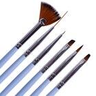 6pcs Brush Pen Nail ...