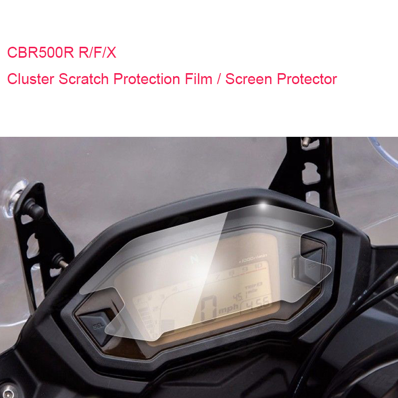 <font><b>2018</b></font> for Honda CRF250L CRF250 <font><b>CBR500R</b></font> CB500F CB500X 2017 <font><b>2018</b></font> Cluster Scratch Protection Film Screen Protector Brand New image
