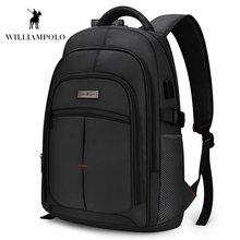 2018 водонепроницаемый рюкзак для ноутбука мужской Оксфордский