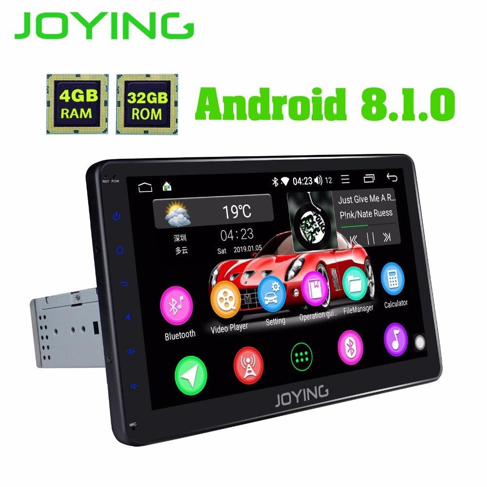 Joying1 din autoradio Android 8.1 4G RAM GSP Navi pour VW/Volkswagen/Seat/Golf 10.1