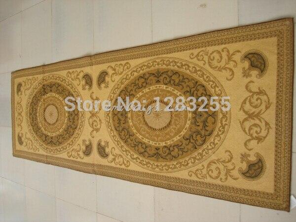 100% laine cousu main 2014 Alfombra Alfombras Tapete Para Sala [deux livraison gratuite] tapis à l'aiguille 8 pieds 2.5*76 244 cm]