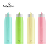 Vacuum Stainless Steel Thermos Flask Straight Cup Four Color Optional Vacuum Cup Spot
